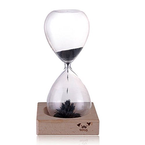 9PIG-Hand-blown-Glass-Sand-Timer-Magnetic-Hourglass-A-Perfect-Decoration-Gift-Choice