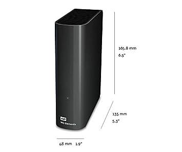 Western Digital 4TB Elements Desktop externe Festplatte USB3.0 WDBWLG0040HBK-EESN