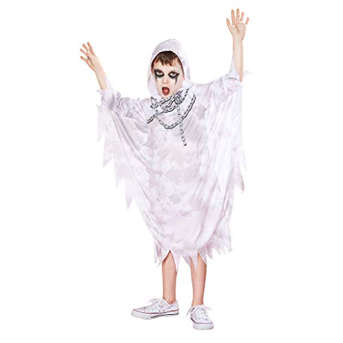 ReneeCho Boy's Ghost Costume Robe Toga