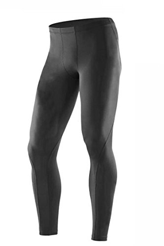 2XU Military Men's Recovery Compression Tights, Made in USA, Black, Large