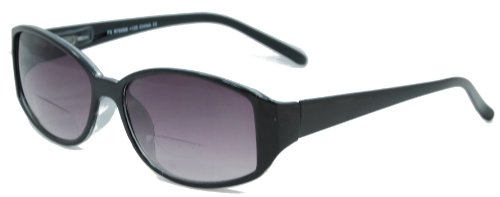 - In Style Eyes Stylish Bifocal Sunglasses/Black/1.50