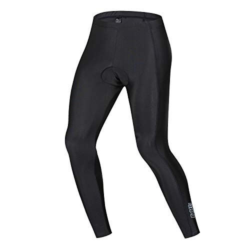 Men's Cycling Pants Padded Bicycle Tights Legging Biking Clothes Compression Pant (Black, Small)