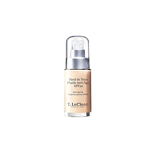 T. LeClerc Anti Ageing Fluid Foundation SPF 20 (Bottle) - # 03 Beige Sable Satine 30ml/1oz