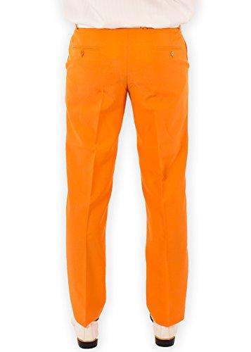 Festified Men's Classic Party Pants In Orange (32) by Festified (Image #3)