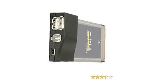 New Drivers: IOGear USB 2.0/FireWire Combo CardBus Card GUF202