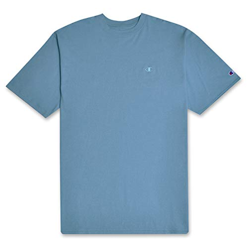 Champion Big and Tall Mens Vintage Wash Short Sleeve T Shirt Corn Teal XLT