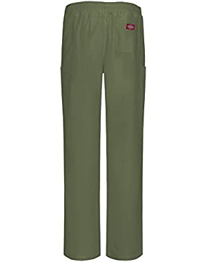 81111A Men's Antimicrobial Zip Fly Pull-on Pant