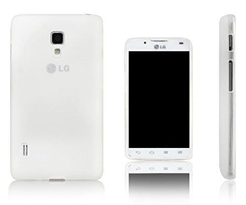 Xcessor Vapour Flexible TPU Case for LG Optimus L7 II P710 / P713. Transparent (Transparent)