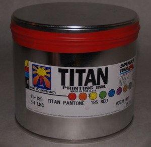Titan 185 Pantone Red 5.4 Lb.