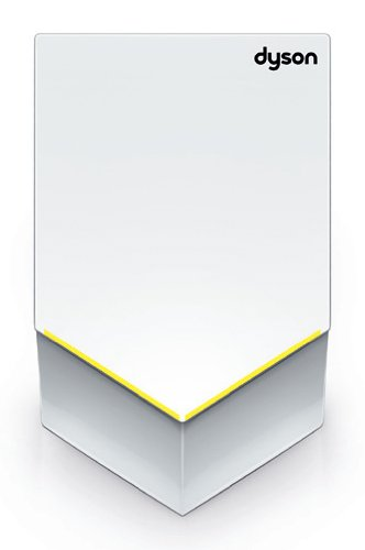 Dyson AB12 Airblade V Slim Profile Hygienic and Efficient Hand Dryer With 1400 W, White by Dyson