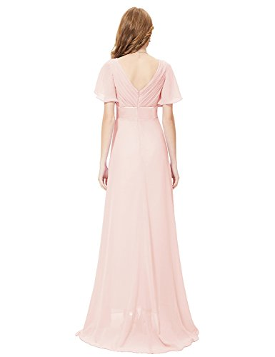 He09890pk14 Pink 12us Ever Pretty Casual Dresses With