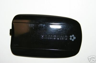 Samsung Stripe T329 Black Back Cover Battery Door