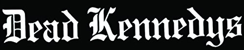 DEAD KENNEDYS ROCK BAND SYMBOL 8' DECORATIVE DIE CUT DECAL - WHITE