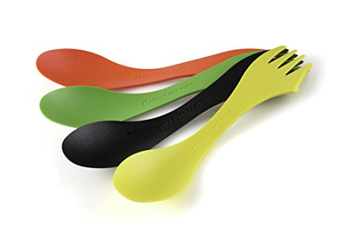 Light My Fire Original BPA-Free Tritan Spork Multi-Color 4-Pack - Wild Element