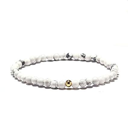 Amazon.com: Gabcus Minimalist 4mm Beads Bracelet Men Charm ...