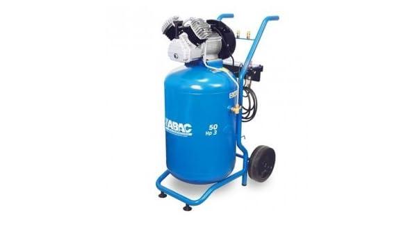 Compresor de aire à Pistón bi-cylindre en