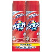 Resolve High Traffic Foam Large Area Carpet Cleaner, 22 Oz, (Pack of 2) (Carpet Red Pile)