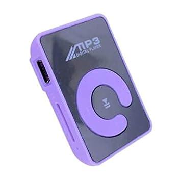 Ningbao Mini Clip de Espejo Reproductor de MP3 Deporte ...