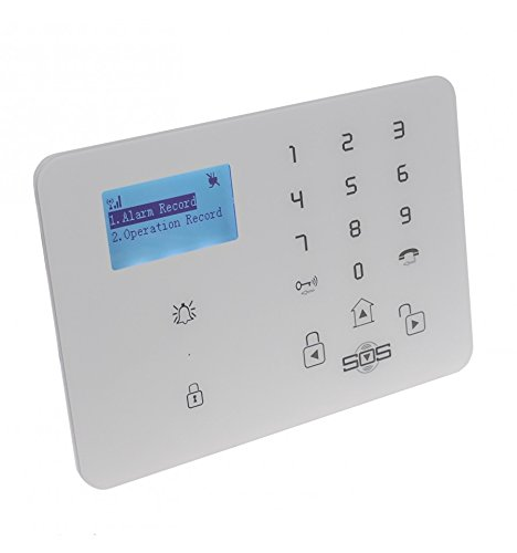 KP9 GSM Alarm Control Panel & Auto-Dialler (No SIM Card Thank You)