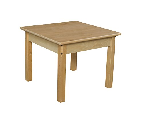 Wood Designs WD82418 Child's Table, 24″ Square with 18″ Legs Review
