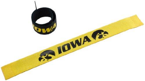 Iowa Hawkeyes Jewelry (NCAA Iowa Hawkeyes 2-Pack Slap)
