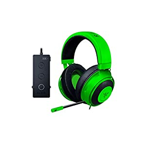 Best Epic Trends 31x2HdhSExL._SS300_ Razer Kraken Tournament Edition THX 7.1 Surround Sound Gaming Headset: Retractable Noise Cancelling Mic - USB DAC - For…