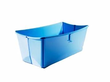 Prince Lionheart Flexibath Foldable Bathtub, Blue Color: Blue NewBorn, Kid,  Child,