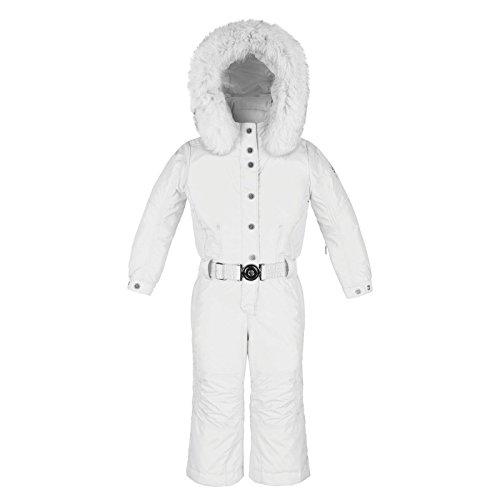 Poivre blanc-Mono de esquí para niña, Niños, color blanco, tamaño ...