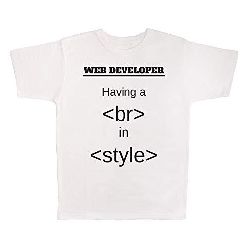 4 All Times Web Developer Having A Break in Style T-Shirt