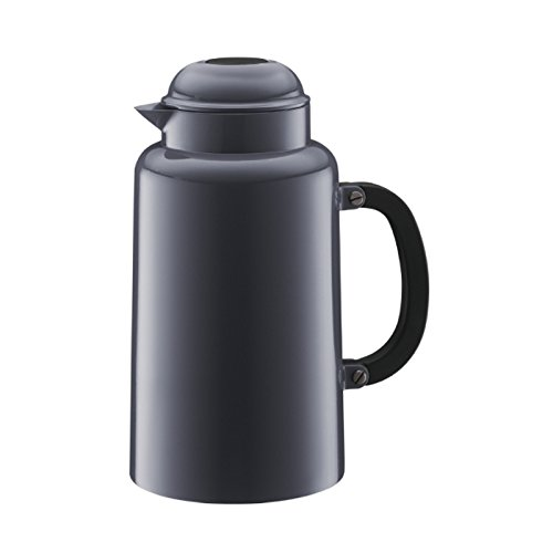 (Bodum Chambord 34-Ounce Thermo Double-Wall Vacuum Carafe, Gray)