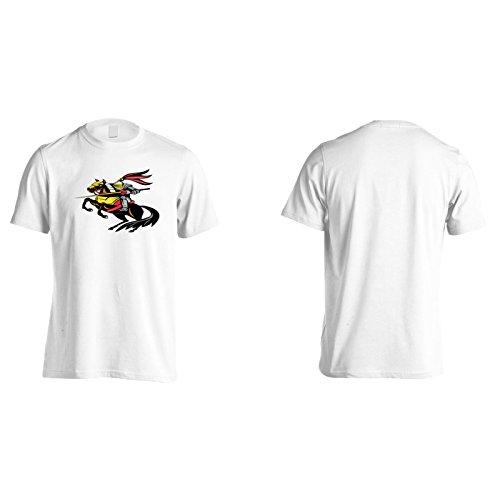 Neues Ritterpferd Mit Schwert Herren T-Shirt l568m