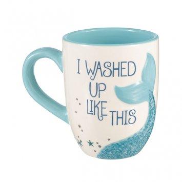 Grasslands Road I Washed Up Like This Mermaid Coffee Mug (Coffee Mermaid Cup)