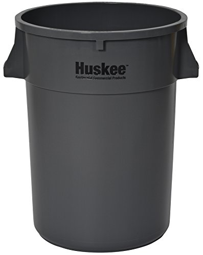 Receptacle Huskee (Continental 4444GY, Huskee Grey Round Receptacle, 44 gallon Capacity, 24