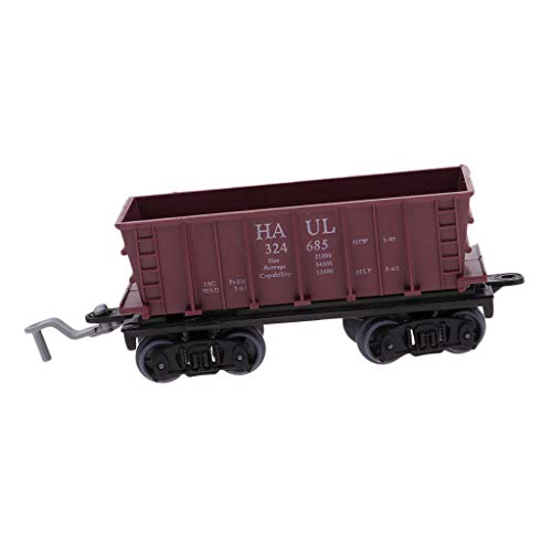 ain Carriage Cargo Freight Wagon Model Railroad Scenery Diorama - Load Coal ()