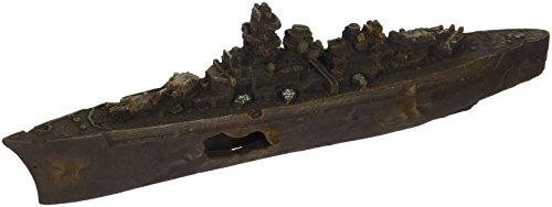 Deep Blue Professional DecoConcepts WWII Sunken Destroyer, 12-Inch