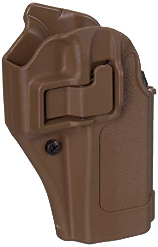 BLACKHAWK! 410502CT-R Glock 19/23/32/36 Serpa Holster, Coyote Tan