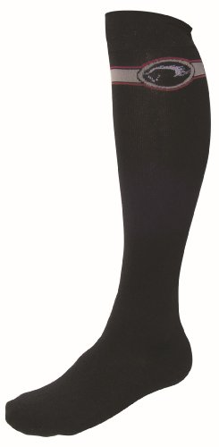 Equestrian Boot Sock Pink