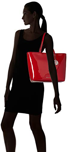 Tote Armani Shopping Exchange Rosso Borse Womans Donna red axPx6nwq