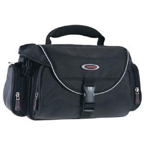 Vanguard Peking 25 Shoulder Bag for DSLR Camera with Attached Lens, 3-4 Extra Lenses and Accessories