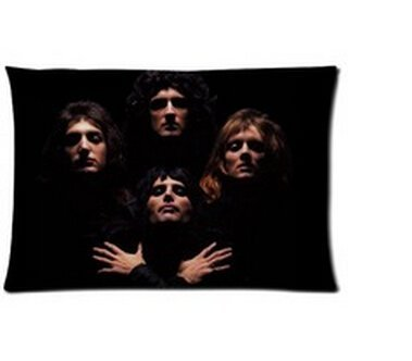 Pillow Band (Custom Music Band Queen Two Sides Printed for 20x30 Inch Pillowcases Fashion Pillow Cover)