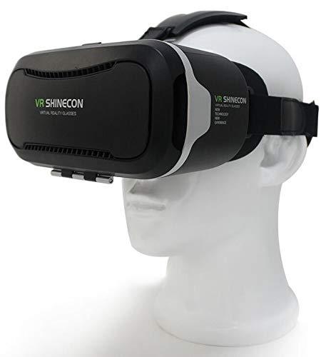 629a99380 شاينكون في ار 2 ، نظارة الواقع الافتراضي ثلاثية الابعاد للهواتف الذكية  ولمشاهدة الافلام والالعاب بتقنية ثلاثية الابعاد
