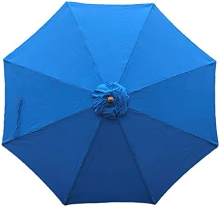 9ft Umbrella Replacement Canopy 8 Ribs