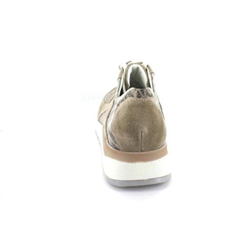 WALDLÄUFER HIROKO 364004785207 Womens Lace-Up Shoe Beige 3Y0Pj28d