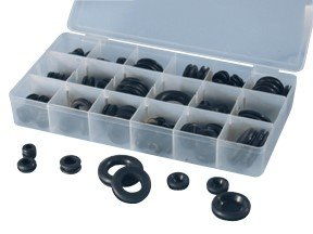 ATD Tools 362 125-Piece Rubber Grommet Assortment by ATD