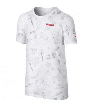 70942b3a1 Nike Camiseta Lebron Logo TD (176)  Amazon.es  Deportes y aire libre