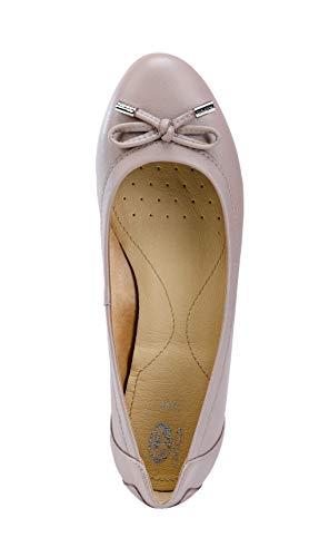 D été ballerines élégant loisirs arc chaussures Ballerines Classiques Femme Charlene  Rose Geox Antique Ballerines dame ... bcd4d61890b