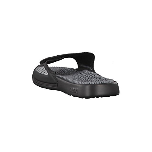 Arena Marco Velcro Sandals Poly + Hook Black-grey-silver HlGh2z5X5