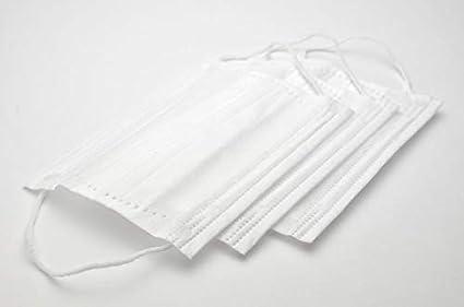 Idea Basics 20 Piezas Tapabocas de 3 Capas - Máscara de Seguridad - Desechable de para Salud del Personal - Tapabocas de 3 Capas a Prueba de Polvo y s