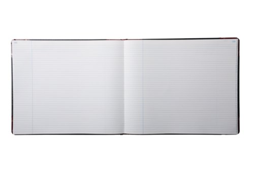 Boorum & Pease 25300R Record Ruled Book, Black Cover, 300 Pages, 15 1/8 x 12 7/8 by Boorum & Pease