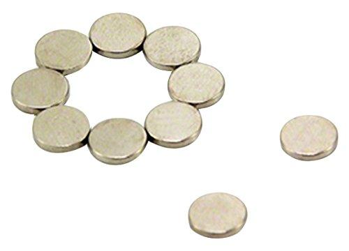 Magnet Expert/® 6mm diam/ètre x 1mm diam/étral N42 n/éodyme aimant pack de 100